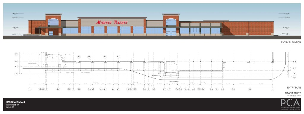 Market Basket on residence three modeled